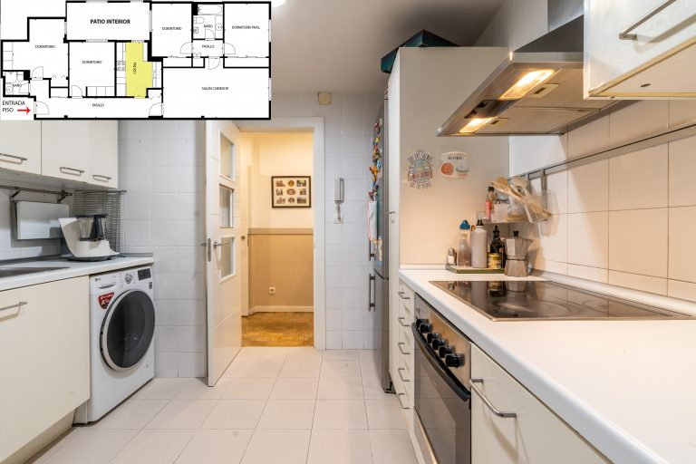 Cocina sin Home Staging