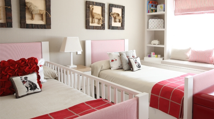 un dormitorio infantil para dos hermanos with decorar dormitorio nia