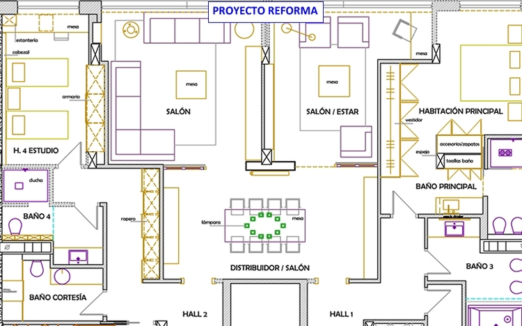 Ideas de decoraci n de casas for Decoracion casa 90m2
