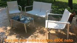 Tresillo OUTDOOR