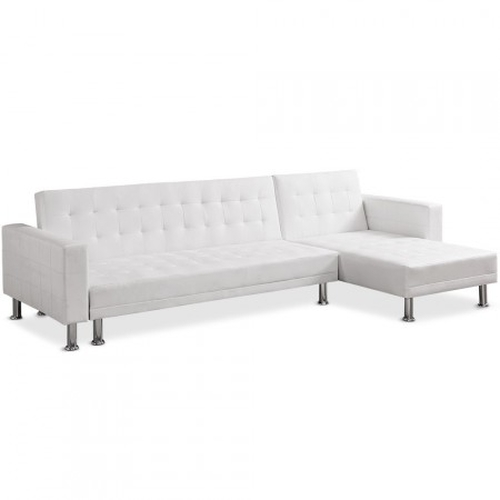 Sofa Chaise longue cama Vogue blanco