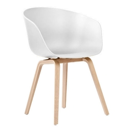 About A Chair AAC22 Roble Lacado/Blanco