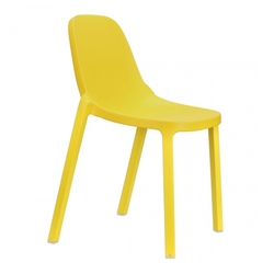 Silla Apilable Broom Amarillo