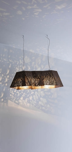 PLYWOOD CHANDELIER