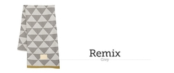 Manta Remix Grey Blanket