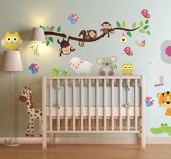 Vinilo decorativo sticker selva