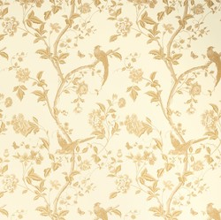 papel summer palace oro