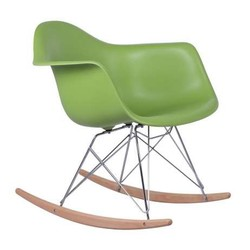 Mecedora eames Tower Arms Verde Inspiración RAR Rocking Chair de Charles & Ray Eames
