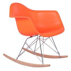Mecedora eames Tower Arms Naranja Inspiración RAR Rocking Chair de Charles & Ray Eames