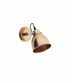 Wall lamp, copper