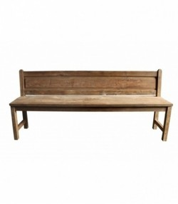 french bench in teak