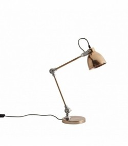 Table lamp, copper