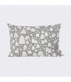 Mountain Tops Cushion - Grey