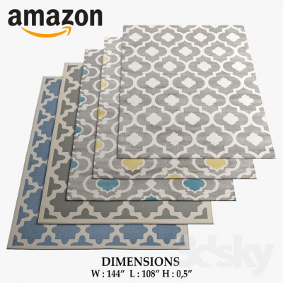 #3079 Alfombra TT Home - Amazon