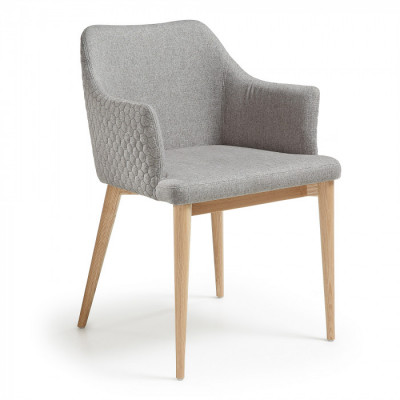 Silla  Croft gris claro - Kave Home