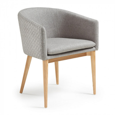 Silla Harlan Gris claro - Kave Home