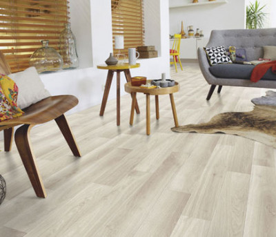 Suelo de vinilo Tarkett INTENSO EXCLUSIVE OAK WHITE