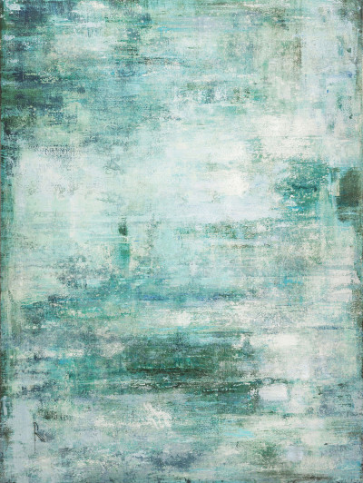 Lienzo Abstract azul 90 x 120 cm - Ref. 30459