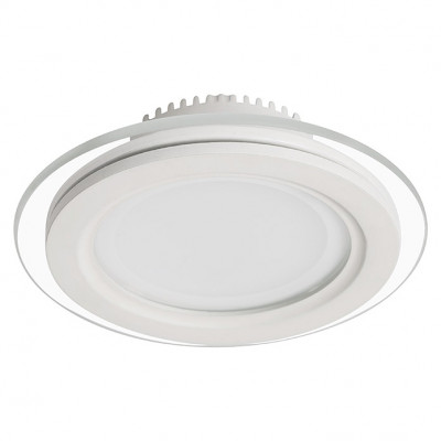 Sulion Foco downlight LED empotrable Down Glass Round
