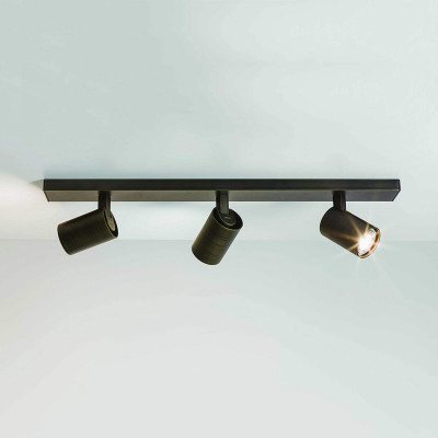 Astro Ascoli Dimmable Triple Spotlight Ceiling Bar