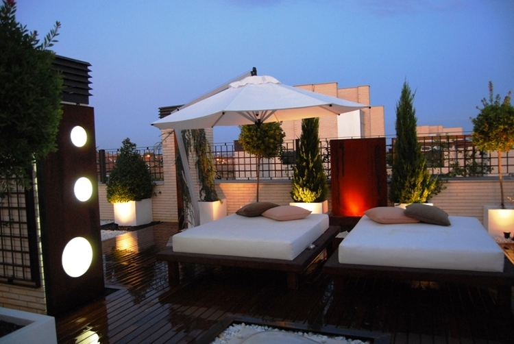 Terraza Chill Out En Madrid Jardinesysol Francisco Saez
