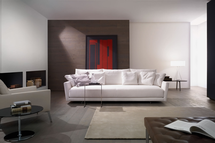 Salon minimalista sofa Angelo