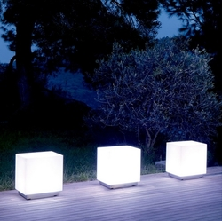 Cubo con luz Viteo outdoors