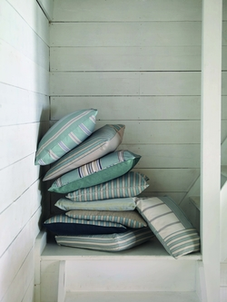 Country Stripe cushion stack 2