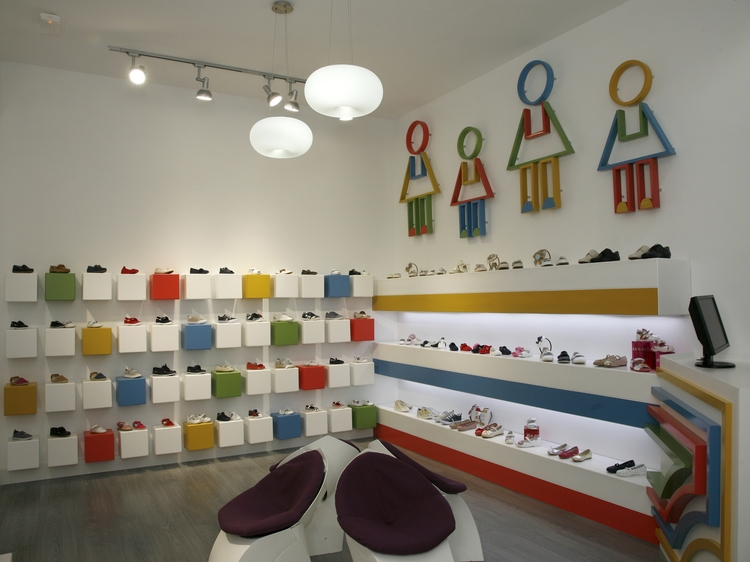 decoracion interiores zapaterias