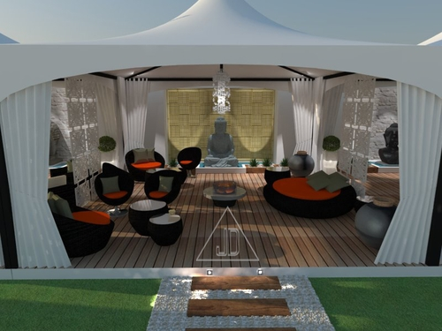 Terraza Chill-out / Chill-out terrace