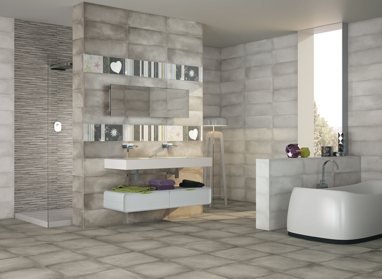 Ba o serie 2214 porcelanite dos for Bano en italiano