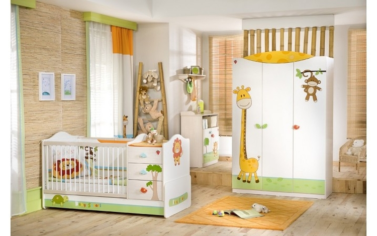 Dormitorio baby safari