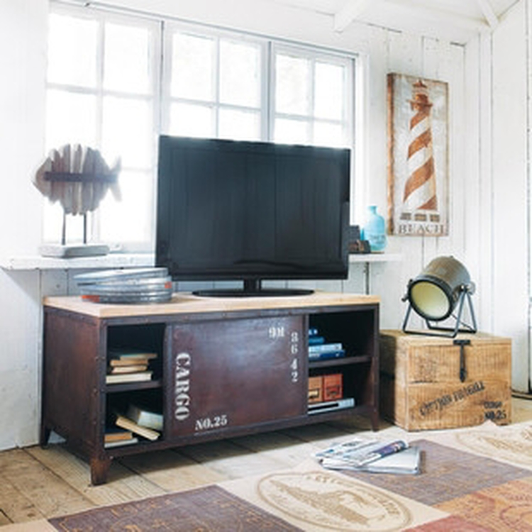 Mueble TV de estilo industrial