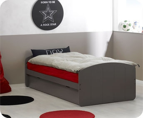 Pack cama nido Dream'In Chocolate con 2 colchones