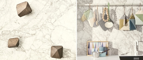 Papel de pared Marble Grey