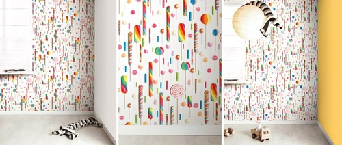 Papel de pared Candy 021