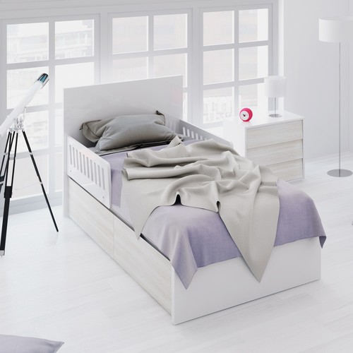Cama junior y mesita PREMIUM ART