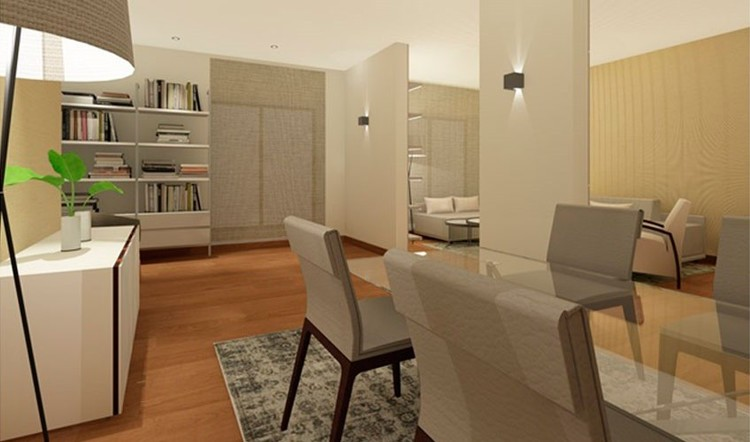 Home staging virtual de salón