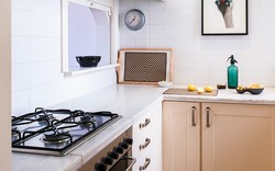 Cocina con home staging