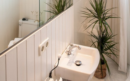 Baño con home staging